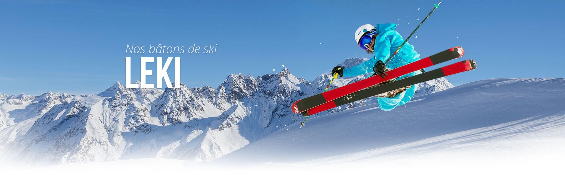 Bâtons de ski de piste Léki