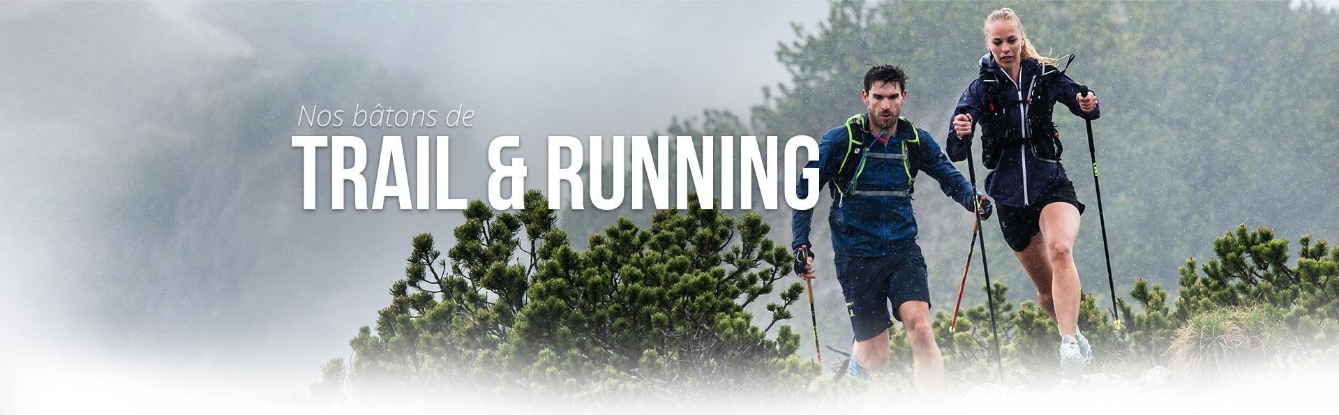 Bâton de Trail Running Guidetti