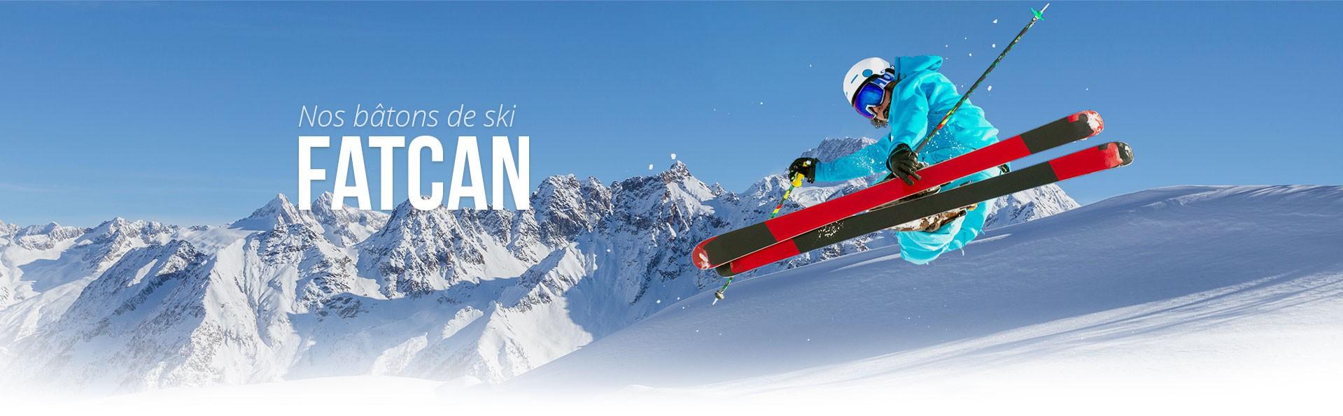 Bâton de ski Fatcan