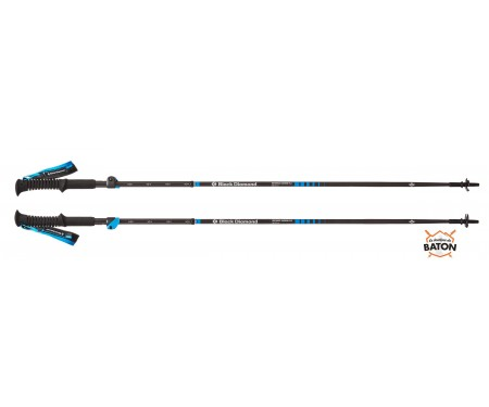 Bâtons Black Diamond Distance Carbon FLZ 2018