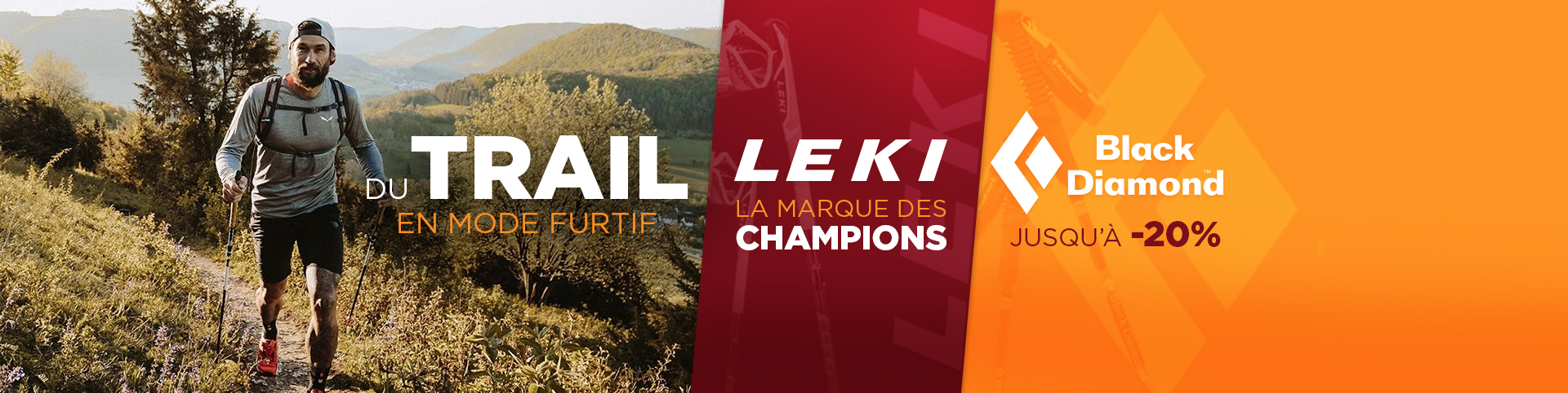 Trail Leki & Black Diamond