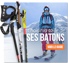 Choisir sa taille de bâtons de ski